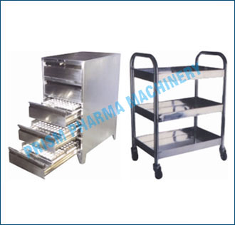 Punch Storage Cabinet &Trolley