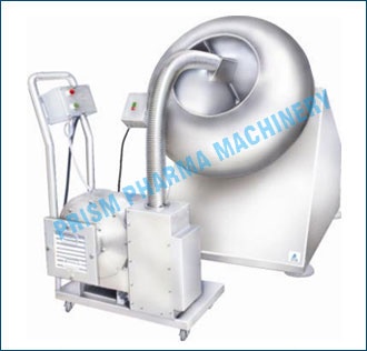 Conventional Coating Machine with Hot Air Blower