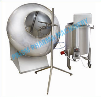 Conventional Coating Machine with Spraying System